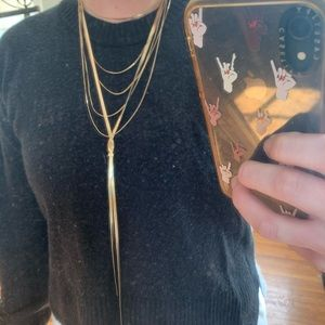 Free People Chain Layering Set